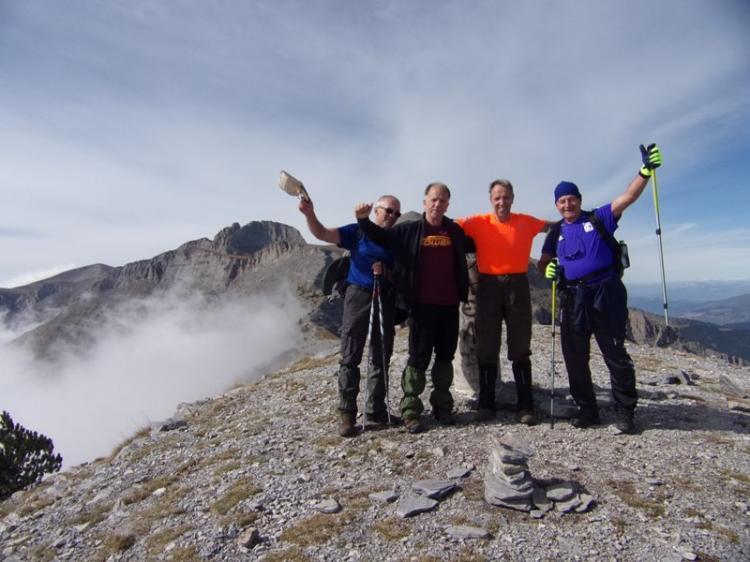 ΟΛΥΜΠΟΣ, κορυφή Σκούρτα 2485 μέτρα, Σάββατο 5 Oκτωβρίου 2019, με τους Ορειβάτες Βέροιας