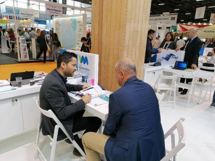 Η Περιφέρεια Κεντρικής Μακεδονίας στη διεθνή τουριστική έκθεση «IFTM Top Resa 2019» στο Παρίσι