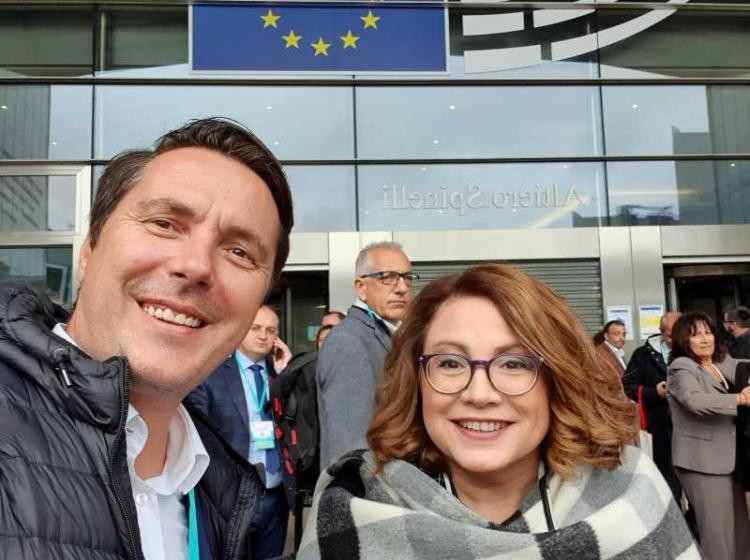 Ο Δήμαρχος Νάουσας Νικόλας Καρανικόλας στη διοργάνωση «Open days for Mayors» στις Βρυξέλλες