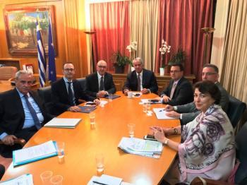 Συνάντηση ΥΠΑΑΤ Μάκη Βορίδη με αντιπροσωπεία του ΥΠΕΞ για την παράνομη ελληνοποίηση γιαουρτιού από ιαπωνική εταιρεία