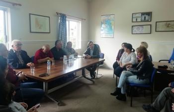 Τις Τ.Κ. Χαρίεσσας, Λευκαδίων, Μαρίνας - Πολλών Νερών και Ροδοχωρίου επισκέφθηκε ο Δήμαρχος Νάουσας, Ν.Καρανικόλας
