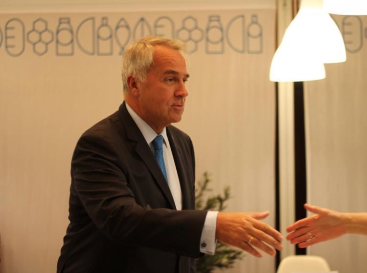 Ο Υπουργός Αγροτικής Ανάπτυξης και Τροφίμων, Μάκης Βορίδης στο Συμβούλιο Υπουργών Γεωργίας στο Λουξεμβούργο
