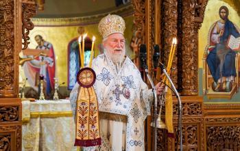 Δοξολογία για τον Μακεδονικό Αγώνα από τον Θεοφιλέστατο Επίσκοπο Θερμών κ. Δημήτριο στη Βέροια
