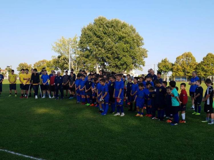 Πραγματοποιήθηκε ο ετήσιος αγιασμός της Σχολής Ποδοσφαίρου Α.Ε.Π. Βέροιας