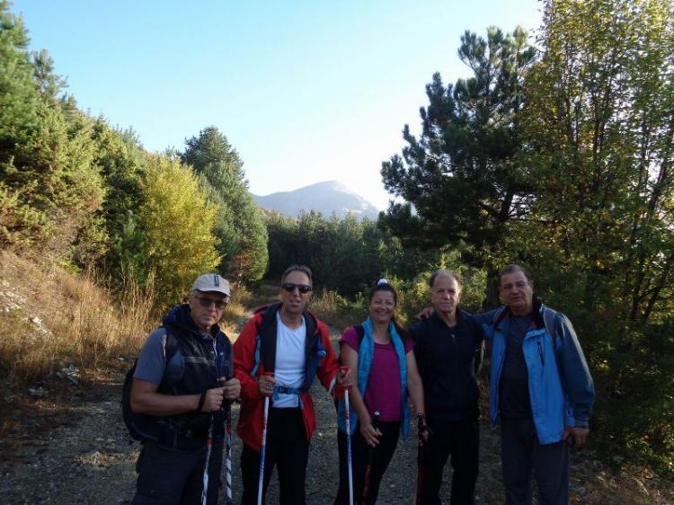 Μικρή Τζένα 2.068μ., Κυριακή 13 Οκτωβρίου 2019, με τους Ορειβάτες Βέροιας