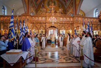 Την 107η επέτειο της απελευθέρωσης της εόρτασε η Νάουσα