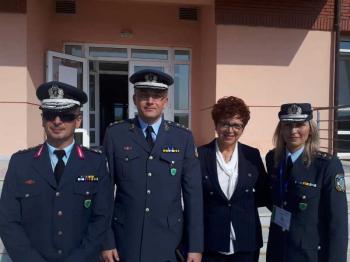 Η Αντιδήμαρχος Πολιτισμού εκπροσώπησε το Δήμο Νάουσας σε άσκηση της Αστυνομικής Ακαδημίας