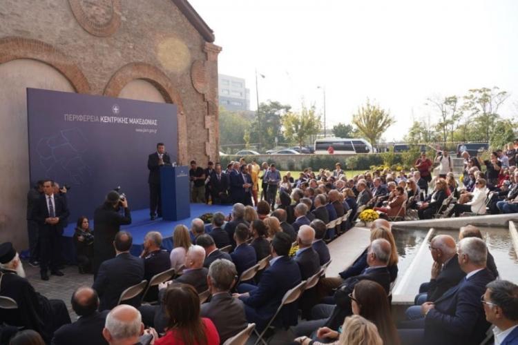 Το νέο Κτίριο Υπηρεσιών της ΠΚΜ στη Θεσ/νίκη εγκαινίασαν ο Οικ. Πατριάρχης Βαρθολομαίος και ο Περιφερειάρχης Απ.Τζιτζικώστας