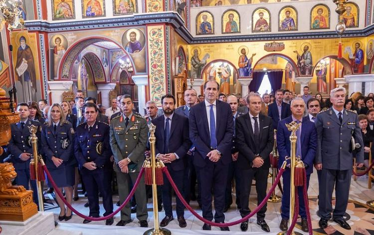 Η Διεύθυνση Αστυνομίας Ημαθίας γιόρτασε τον Προστάτη του Σώματος, Άγιο Αρτέμιο και την «ημέρα της Αστυνομίας»