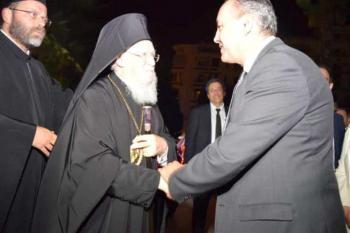 Ο Οικουμενικός Πατριάρχης κ.κ. Βαρθολομαίος στο Διοικητήριο