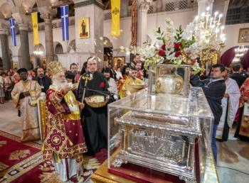 Η Ακολουθία του Επιταφίου του Αγίου Δημητρίου στη Θεσσαλονίκη από τον Μητροπολίτη Βεροίας
