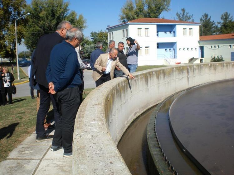 Αυτοψία στο βιολογικό καθαρισμό της ΔΕΥΑΒ και απαντήσεις από τον εργολάβο Γ. Γκανάτσιο