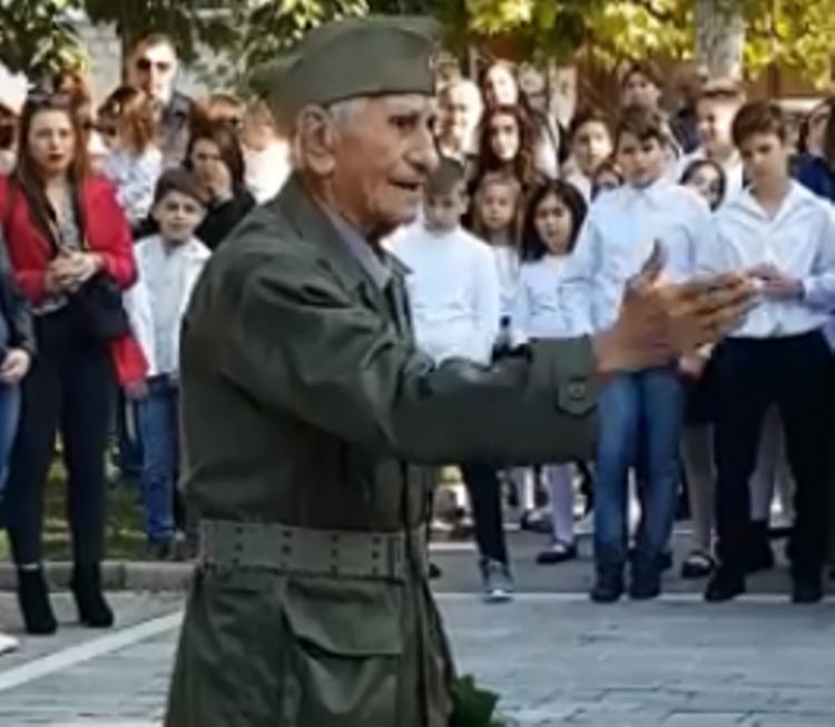 Μιχάλης Αηδονίδης. Στα 90 του παραμένει στις επάλξεις του ΚΚΕ!