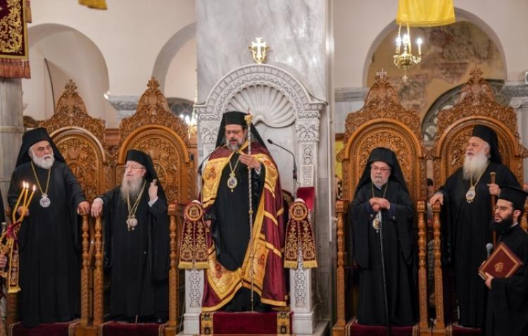 Λαμπρές εκδηλώσεις για τον Πολιούχο της Θεσ/νίκης, Άγιο Δημήτριο τον Μυροβλήτη. Συμπανηγύρισε φέτος με την Παναγία Σουμελά