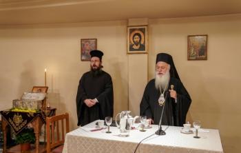 Oμιλία του Σεβασμιωτάτου: «Ο Άγιος Δημήτριος, τα θαύματα και η εύρεση των Ιερών Λειψάνων του»