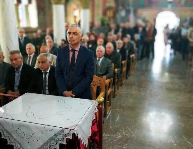 Ευχές του βουλευτή Ημαθίας Λ.Τσαβδαρίδη από τον Άγιο Δημήτριο Καβασίλων