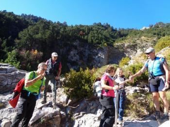 ΟΛΥΜΠΟΣ, 27 Οκτωβρίου 2019, Πριόνια - Kαταφύγιο Σπήλιος Αγαπητός, με τους Ορειβάτες Βέροιας