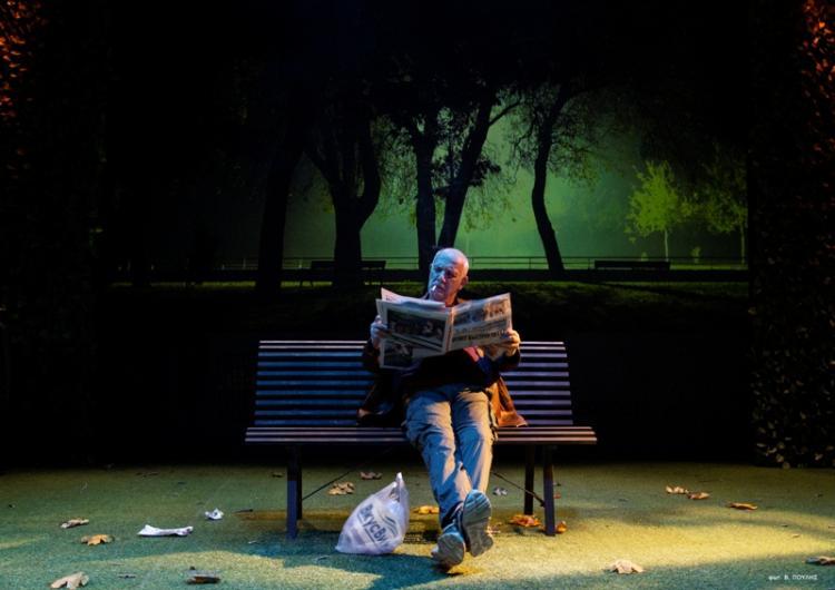 «Το παγκάκι» με τον Γ.Κιμούλη και την Φ.Μπαξεβάνη στην Αντωνιάδειο Στέγη Βέροιας τη Δευτέρα 18/11,ώρα 19.00 & 21.00 (2 παραστάσεις)