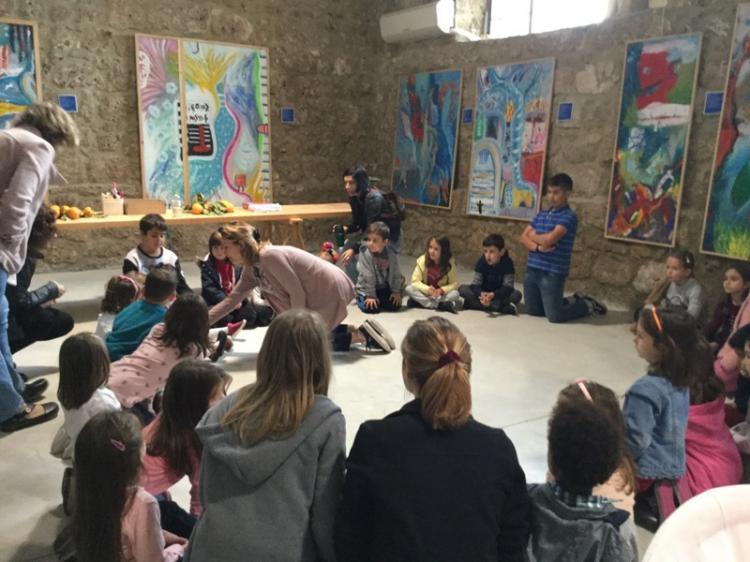 Η Ξένια Καλογεροπούλου παρουσίασε την «Αγγελίνα» στο Εκκοκκιστήριο Ιδεών Βέροιας