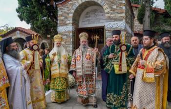 Με λαμπρότητα εορτάστηκε η μνήμη του Αγίου Γεωργίου του Καρσλίδη στην Δράμα
