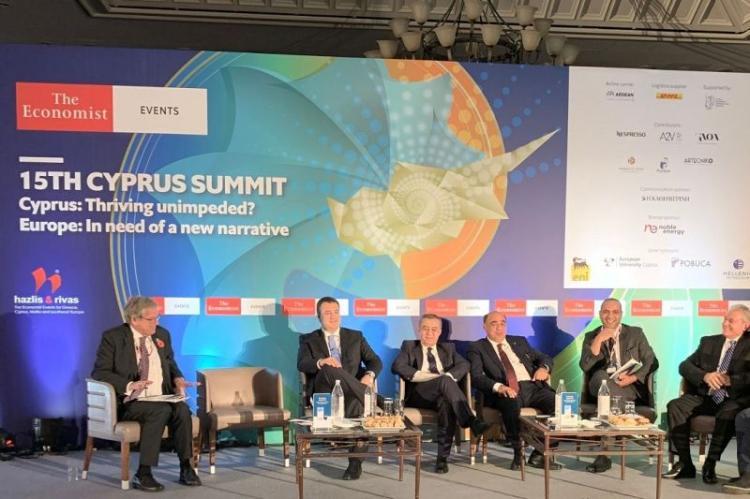 Α. Τζιτζικώστας από το 15th Cyprus Summit του Economist: «Η Κ.Μακεδονία η πιο ελκυστική Περιφέρεια στη Μεσόγειο για επενδύσεις»
