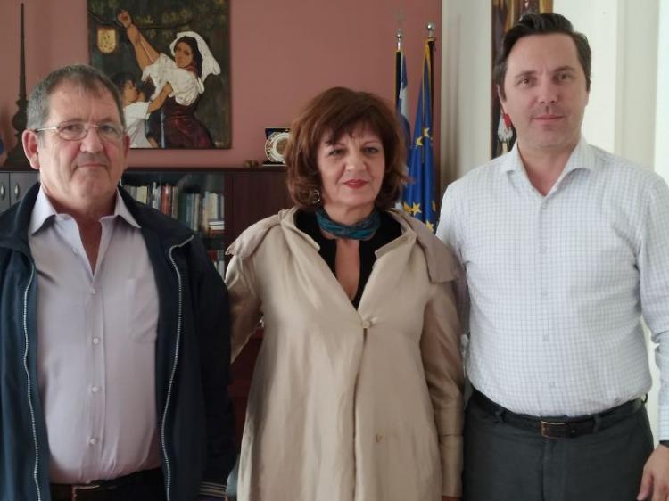 Συναντήσεις Φρ.Καρασαρλίδου με δημάρχους Βέροιας, Νάουσας, Αλεξάνδρειας για θέματα που απασχολούν τους 3 δήμους του νομού μας