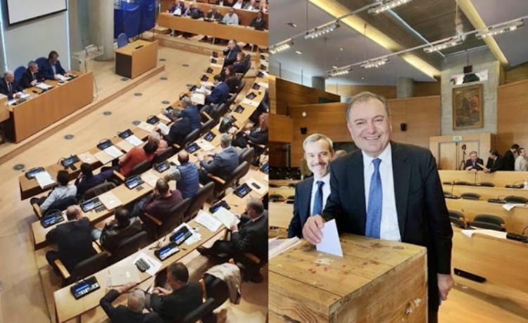 Διοικητικό συμβούλιο ΠΕΔ Κεντρικής Μακεδονίας. Σύμβουλοι οι Γκυρίνης, Βοργιαζίδης, Μαρκούλης
