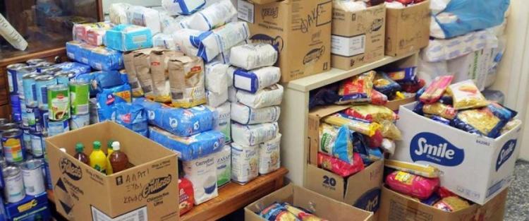 Διανομή τροφίμων και προϊόντων βασικής υλικής συνδρομής στους δικαιούχους του ΤΕΒΑ από την ΠΚΜ