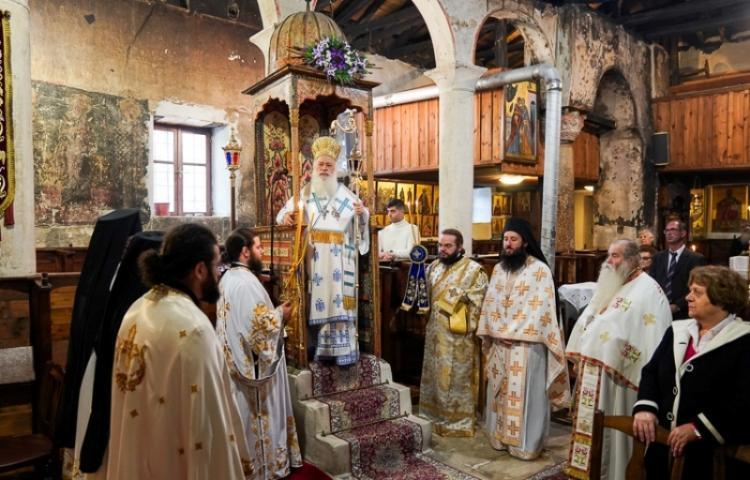 Η εορτή του Αγίου Ιωάννου του Ελεήμονος στη Βέροια