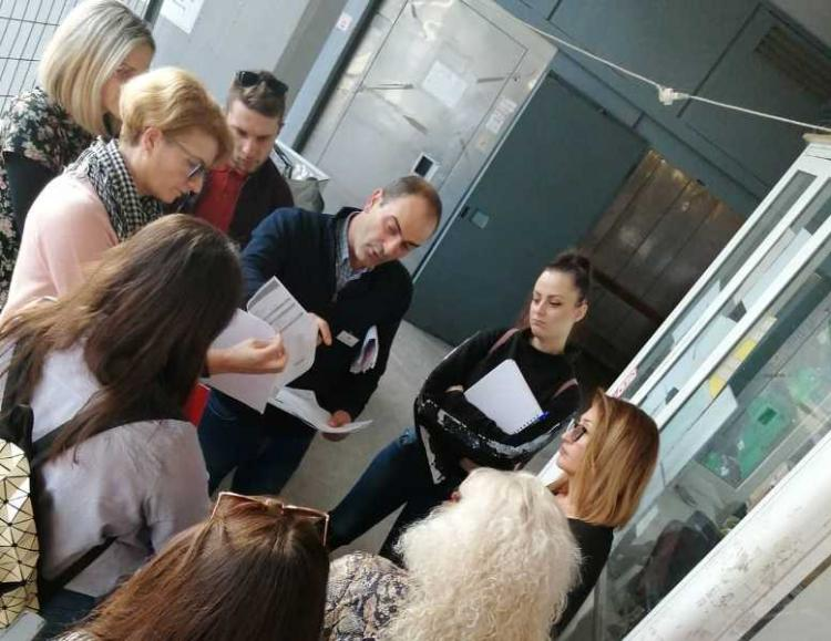 Σπουδαστές του ΙΕΚ Βέροιας επισκέφτηκαν το super market