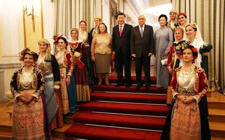Όταν ο κινέζος πρόεδρος συνάντησε την πολιτισμική παράδοση της Ημαθίας