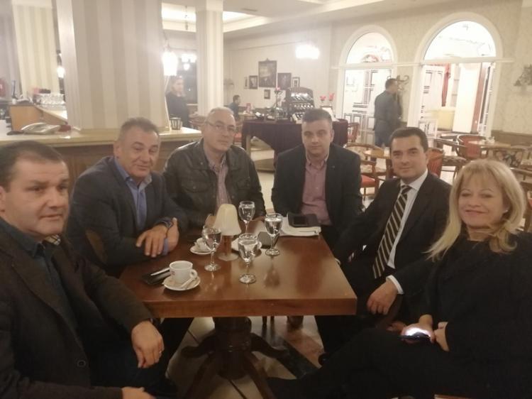 Με τον Υφ.Α.Α.Τ  Κωνσταντίνο Σκρέκα συναντήθηκαν εκπρόσωποι του Α.Σ.Γ. Βέροιας