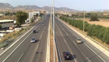 Άρση προσωρινών κυκλοφοριακών ρυθμίσεων στην εθνική οδό Αθηνών - Θεσσαλονίκης