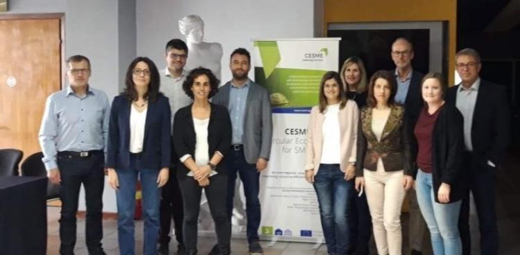 """Η Περιφέρεια Κεντρικής Μακεδονίας στην τελική συνάντηση των εταίρων του έργου """"CESME – Circular Economy for SMEs """""""