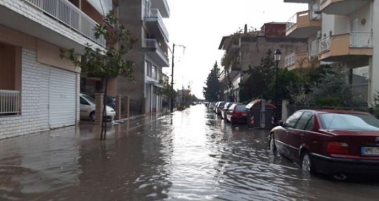 Οδοιπορικό στους δρόμους της Αλεξάνδρειας Hμαθίας μετά τη νεροποντή!