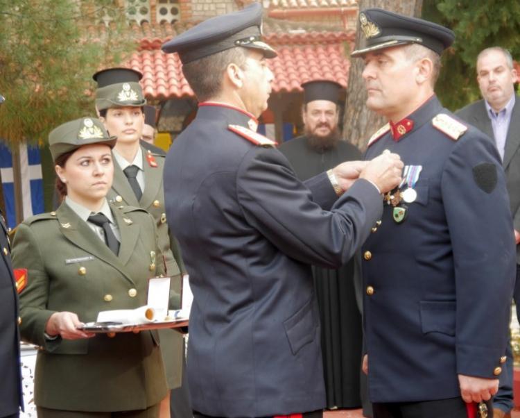 Η Ι Μεραρχία Πεζικού τίμησε την ημέρα των Ενόπλων Δυνάμεων