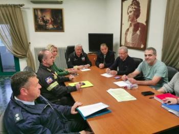 Σύσκεψη στο Δημαρχείο Αλεξάνδρειας για την αντιμετώπιση των έντονων καιρικών φαινομένων