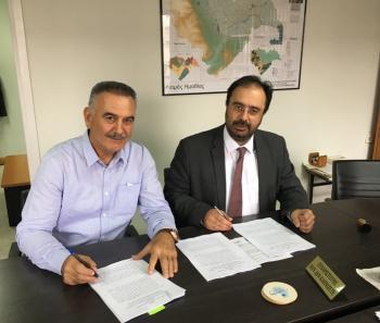 Τρία νέα έργα ξεκινά ο Δ.Βέροιας μέσω του Leader, υπογράφτηκαν οι σχετικές συμβάσεις μεταξύ Δημάρχου και Προέδρου της ΑΝΗΜΑ Α.Ε.