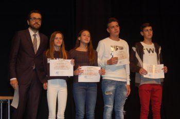 Αθλητές του Νηρέα Βέροιας βραβεύθηκαν από το Δήμο Βέροιας