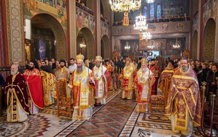 Εορτάστηκε η μνήμη της Αγίας Μεγαλομάρτυρος Αικατερίνης στην Κατερίνη