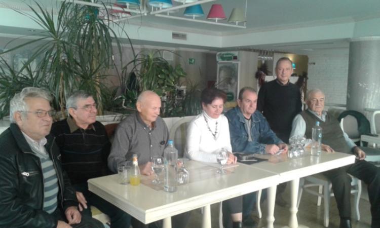 Συνέντευξη Τύπου του σωματείου Συνταξιούχων ΙΚΑ Βέροιας ενάντια στην προσπάθεια «εκπαραθύρωσης» από τα γραφεία του Ε.Κ. Βέροιας