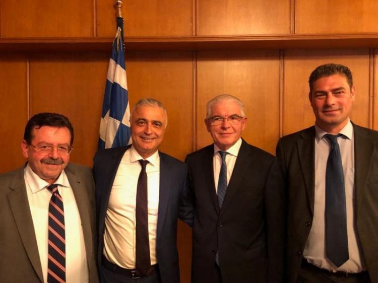 Ο Λάζαρος Τσαβδαρίδης με το νέο Διοικητικό Συμβούλιο του ΕΛΓΑ