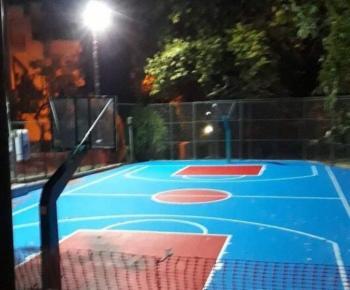 Εγκαίνια νέου γηπέδου Μπάσκετ Κυψέλης