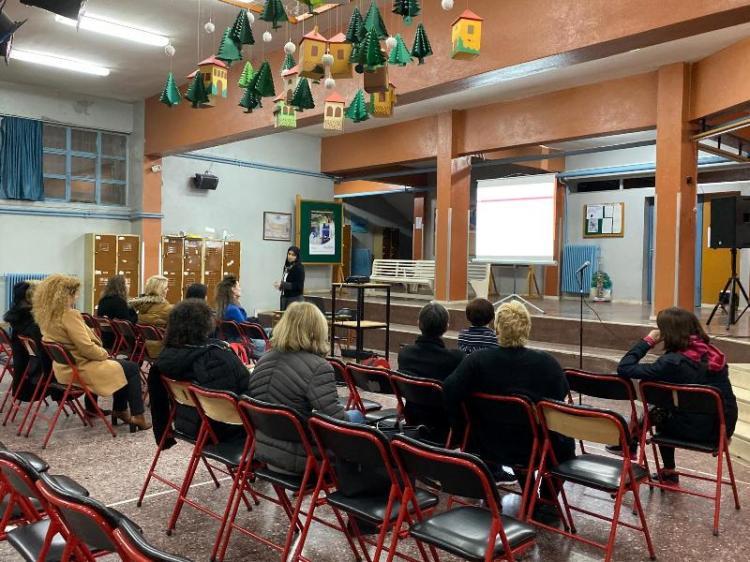 Πραγματοποιήθηκε ενημερωτική ομιλία με θέμα τον Σχολικό Εκφοβισμό στο 2ο Γυμνάσιο Βέροιας
