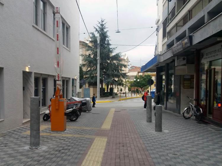 Δημοτική Αστυνομία : Αναβολή λειτουργίας του συστήματος πρόσβασης στο Εμπορικό Κέντρο