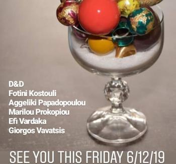 Έκθεση κεραμικών αντικειμένων και κοσμήματος στην γκαλερί Papatzikou