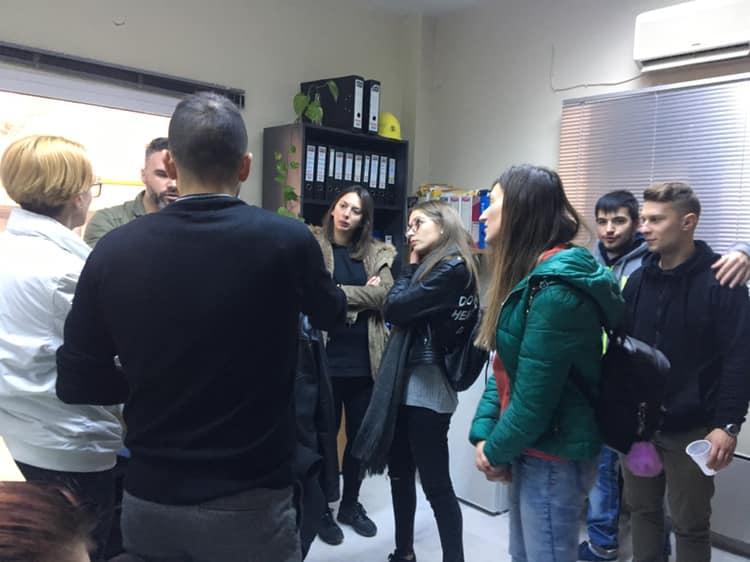 Εκπαιδευτική επίσκεψη του τμήματος «Γραμματέων Ανώτερων & Ανώτατων Στελεχών» του ΔΙΕΚ Βέροιας στον Υδροηλεκτρικό Σταθμό Σφηκιάς