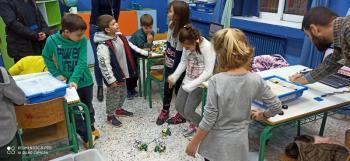 Εκπαιδευτική ρομποτική και STEAM στο Δημοτικό Σχοελίο Κουλούρας