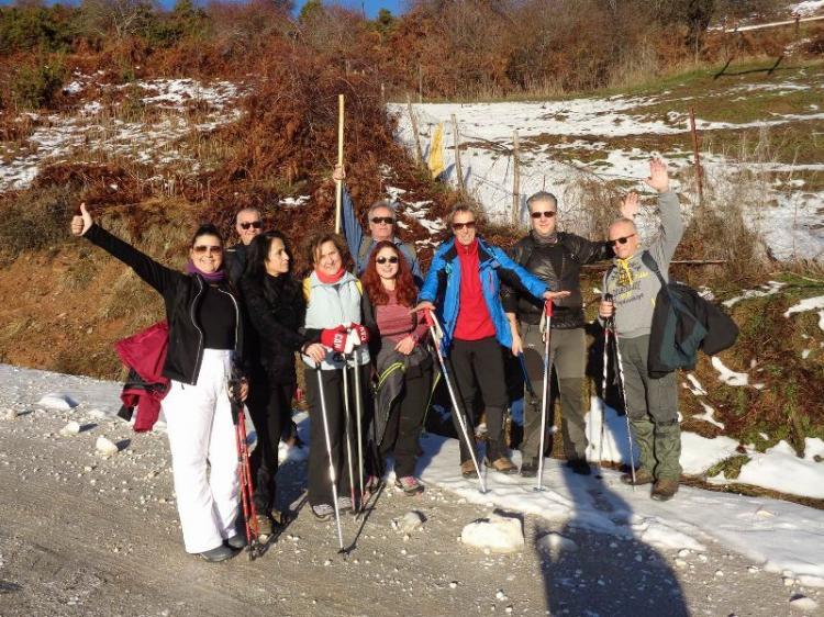 ΒΕΡΜΙΟ, Κορυφή ( Αγκάθι ) 1650μ, Κυριακή 15 Δεκεμβρίου 2019, με τους ορειβάτες Βέροιας
