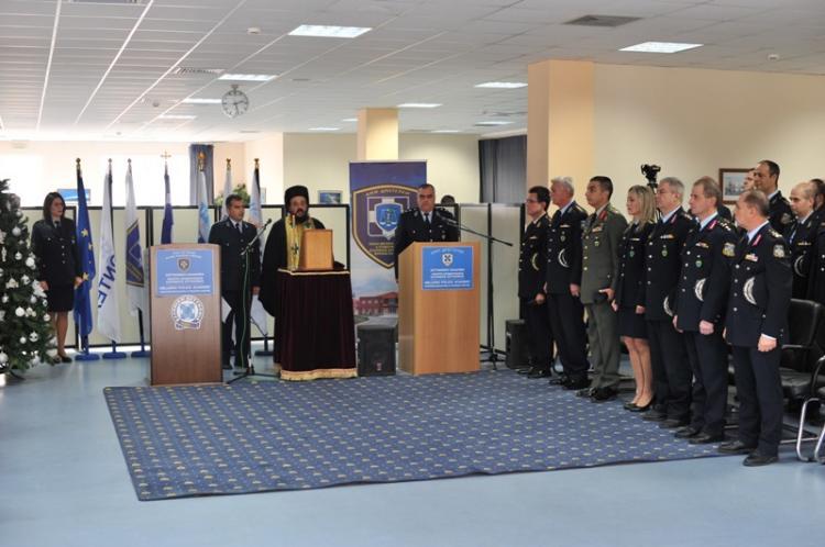 Τελετή απονομής πτυχίων σε 41 αποφοιτούντες Αξιωματικούς του Τ.Ε.Μ.Ε.Σ στη Σχολή Αστυνομίας στο Πανόραμα Βέροιας